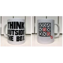 "Mugg ""Think outside the box"""
