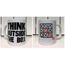 "Mugg ""Think outside the box"""