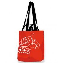 Väska med dalahäst