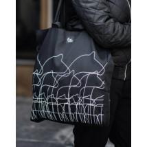 Väska med dalahästar